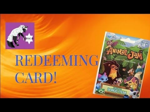 ANIMAL JAM GIFT CARD REDEEMING! | Kawaii Meerkats