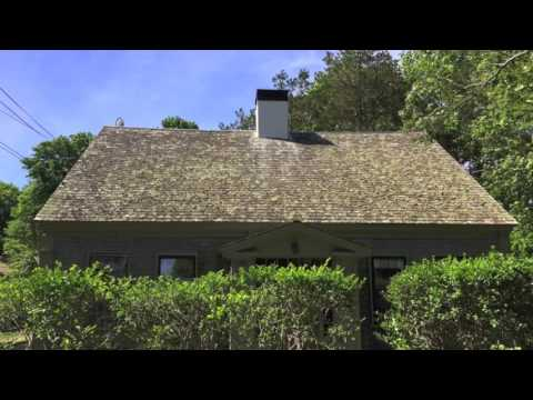 Cleaning Cedar Roofs on Cape Cod