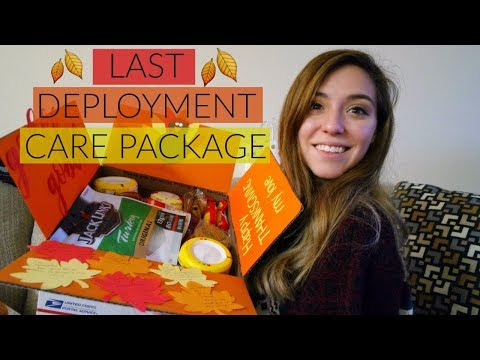 LAST CARE PACKAGE OF DEPLOYMENT // VLOG
