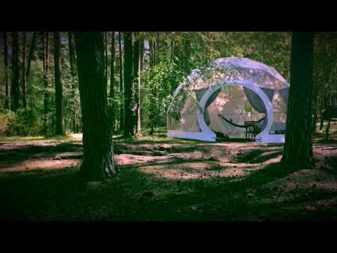 Glamping Tent   Idea by MGLOBE GEODESIC DOMES / Namiot Glampingowy
