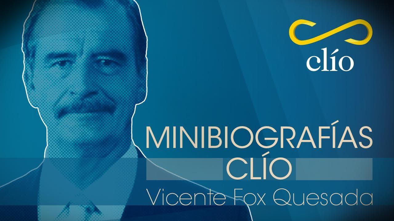 Minibiografía: Vicente Fox Quesada