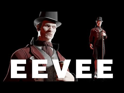 19 Century Vampire - Turnaround - Eevee Animation