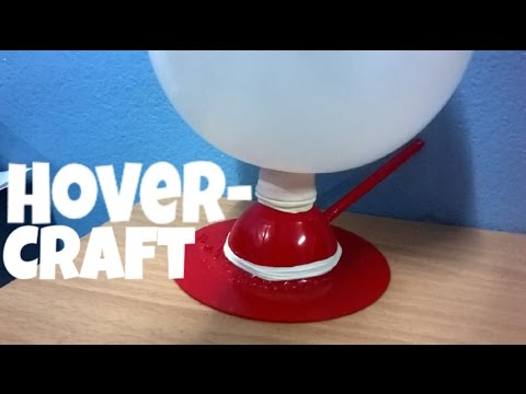 How to make a balloon powered Hovercraft.(diy hovercraft)