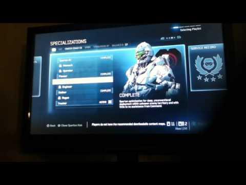Halo 4 specialization pathfinder