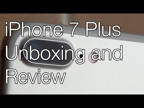 iPhone 7 Plus Unboxing & Review
