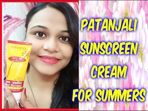 CHEAP & BEST : PATANJALI SUNSCREEN CREAM (Hindi) | Honest Review