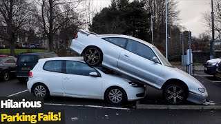 Top 10 Funniest Parking Fails Caught On Camera