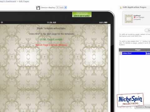 How To Create A Magazine Newsstand App - 1st Screen Design - Magazine Shelf