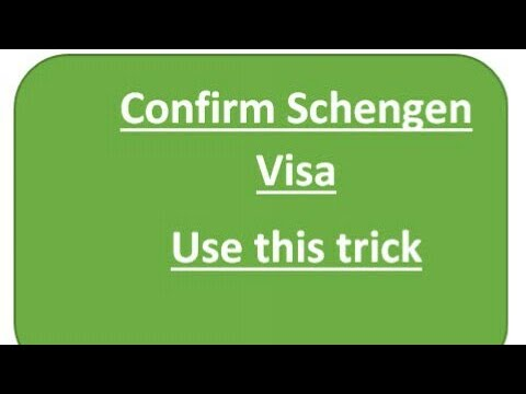 How to make schengen visa cover letter