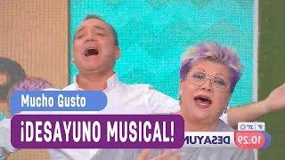 ¡Desayuno Musical! - Mucho Gusto 2017