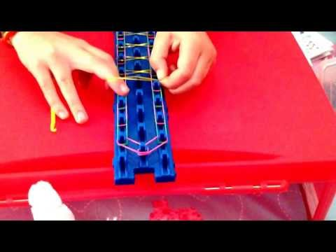 How to make an Infinity bracelet with Crazy Loom