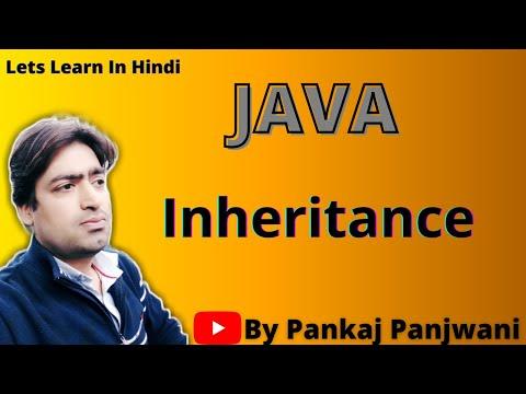 Inheritance in Java By Pankaj Panjwani(YCT Academy) | Part 1 | Hindi