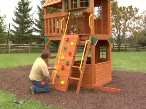 Costco 2011 Cedar Summit Play Set - 'Panorama' [Assembly Instructions]