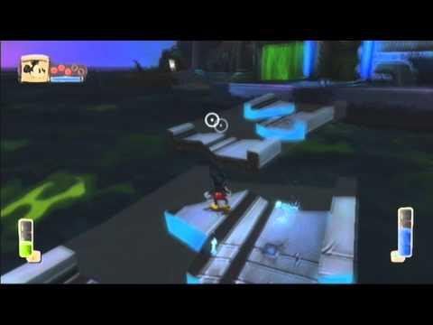 epic mickey walkthrough - hero path - part 13 tomorrow city lagoon