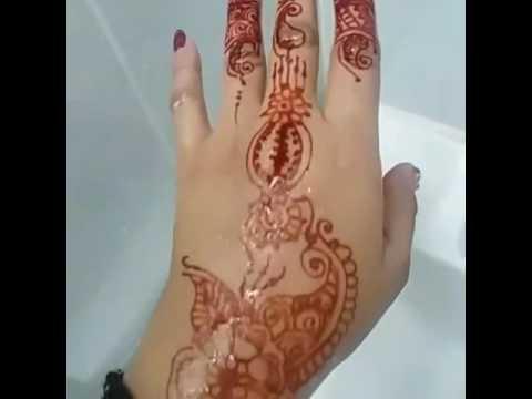 How to wash henna design