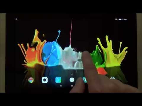 Ink in water live wallpaper for Android phones and tablets