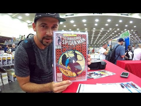 Dropping off Comic Books at Baltimore Comic Con 2017