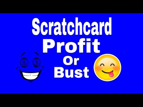 Scratchcards Profit or Bust WOW