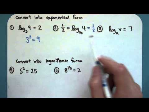 Intro to Logarithms (8-3-1)