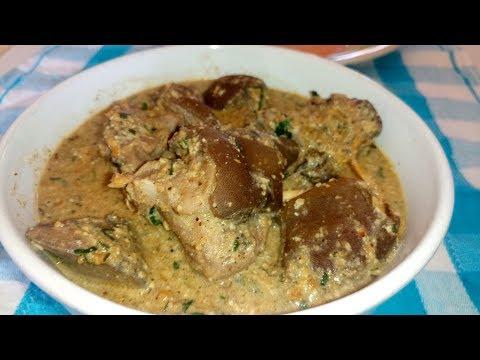 Egusi Pepper Soup Recipe: Egusi Soup Without Palm Oil, Plain Egusi