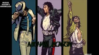 Michael Jackson 1990 Moonwalker Arcade Game - Attract Mode - Rip 2009