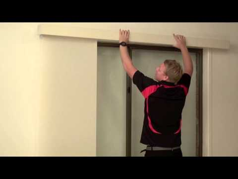 How to Install a Fabric Pelmet over a Face Fit Panel Glide