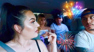 We Could've Got Pulled Over For What He Did On 4th Of July!!!