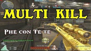 Bình Luận CF(Zombie Ký Sinh): 3z Ultimate Gold MULTI KILL