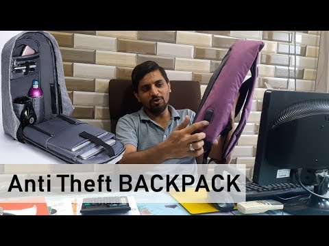 Anti Theft Backpack @ Low Price at Daphol.com