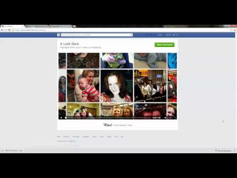 How to download and save your Facebook Look Back Video