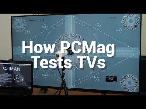 How PCMag Tests TVs