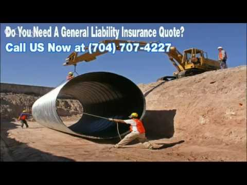 General Liability Insurance Charlotte NC | 704-707-4227 | General Liability Insurance Quote NC