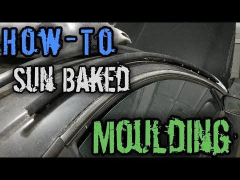 How-to Remove/Replace Drip Mouldings 2nd Gen Eclipse
