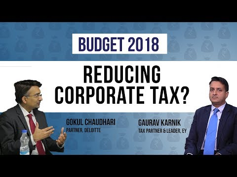 Budget 2018: FM Jaitley can reduce corporate tax to 25%