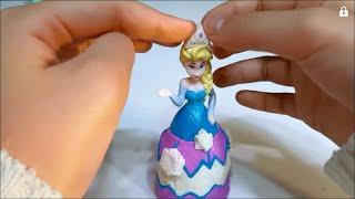 플레이도우 디즈니 겨울왕국 엘사공주 인어공주 라푼젤 장난감만들기 놀이 Play Doh Disney Princess (미니와미키)