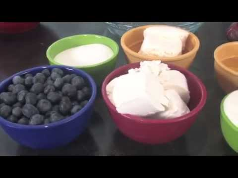 How to: Blueberry Lemon Goat Cheese Cheesecake