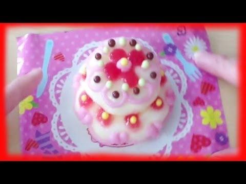 MINI WEDDING CAKE tutorial / kit that is Edible!