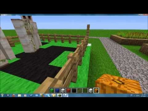 Minecraft Building Things #1 - Boxing Ring