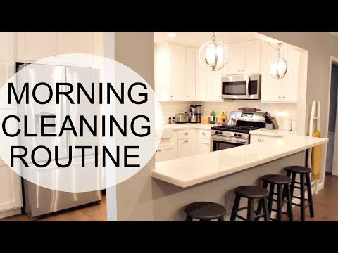 MORNING CLEANING ROUTINE   EXTREME CLEANING MOTIVATION   SPEED CLEAN WITH ME
