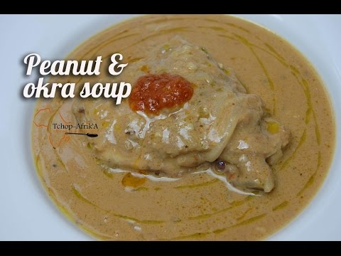 Peanut &  okra soup recipe