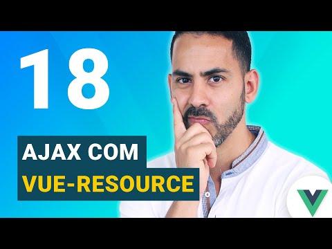 Aula 18 - Vue.js 2.0 Ajax com vue-resource