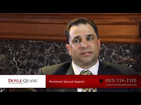 How to Calculate Permanent Spousal Support (Alimony) in California
