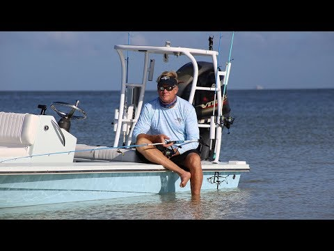 Beavertail Skiff Shallow Water Fishing Boat For Sale