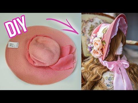 DIY Edwardian Bonnet for under $20!