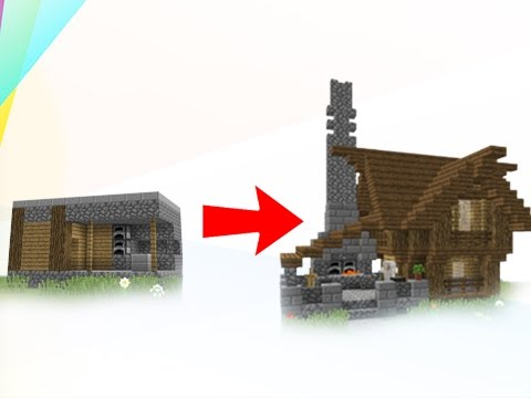 How To Transform A Minecraft Village Blacksmith!
