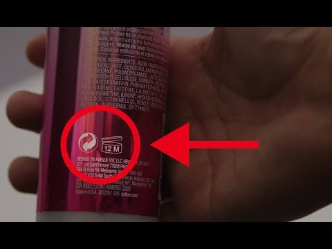 What This Symbol On The Back Of Your Hair Gel Actually Means