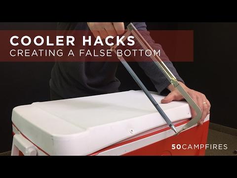 Cooler Hacks : How To Build A False Bottom
