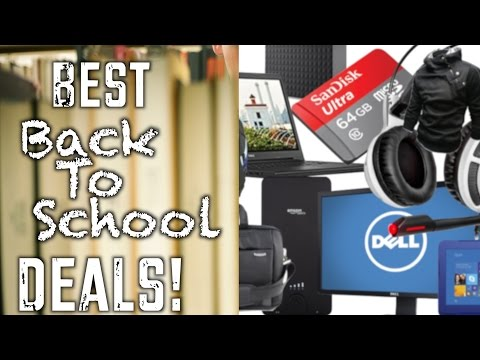 The Best Back to School Deals (Fall 2015)