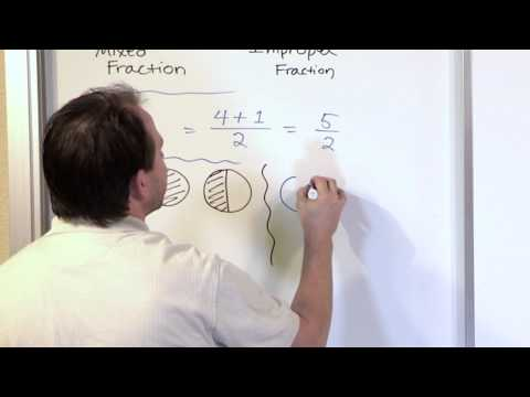 Convert Mixed Fractions to Improper Fractions - 5th Grade Math Tutor