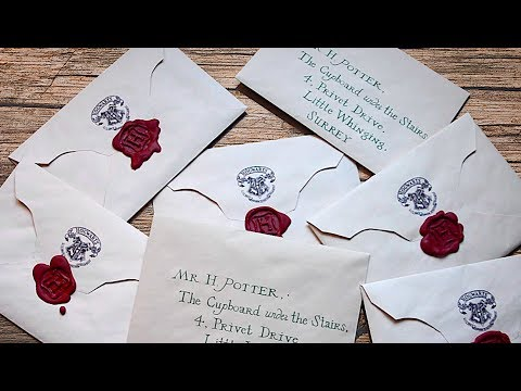 DIY Harry Potter Letter | PAUADELL